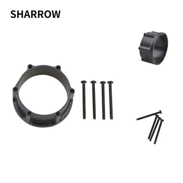1pc Archery Adapter Compound Bow Sight Scope Rail Adapter Set Used For Shooting Aiming Accessory