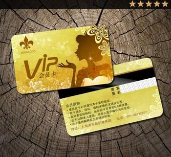 1000PCS Custom PVC Card VIP & Plastic cards Membership Cards Hico + encoding and barcode 128 and Serial Number cards 1