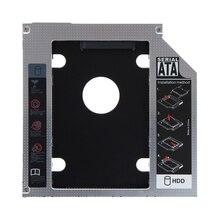 12.7 мм для SATA жесткий диск HDD SSD Оптический Bay Caddy адаптер лоток для Lenovo G700 G710 заменить UJ8D1 UJ8E1 DVD странно