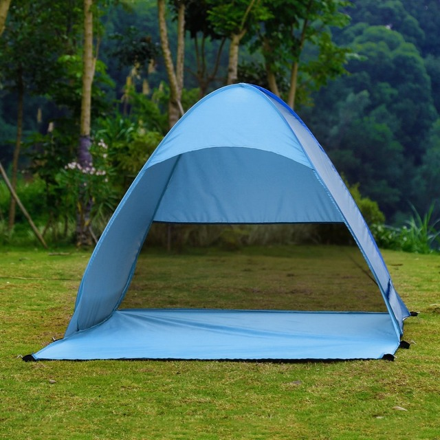 OUTAD Outdoor 2-3 Persons Quick Automatic Instant Portable Cabana Beach Tent C&ing Fishing Picnic & OUTAD Outdoor 2 3 Persons Quick Automatic Instant Portable Cabana ...