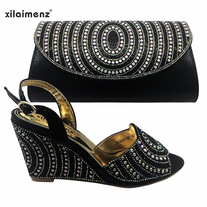 Y Las Black Talón En A purple De Damas Cómodo Mujeres Bolso Bolsa Africana wine Juego Plata Moda Italiano silver Zapato gold qwx6at