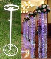 10 pcs/lot De Mariage rideau de perles cadre conducteur Routier/décoration de mariage, plomb cadre, support, le support, support fleur stand