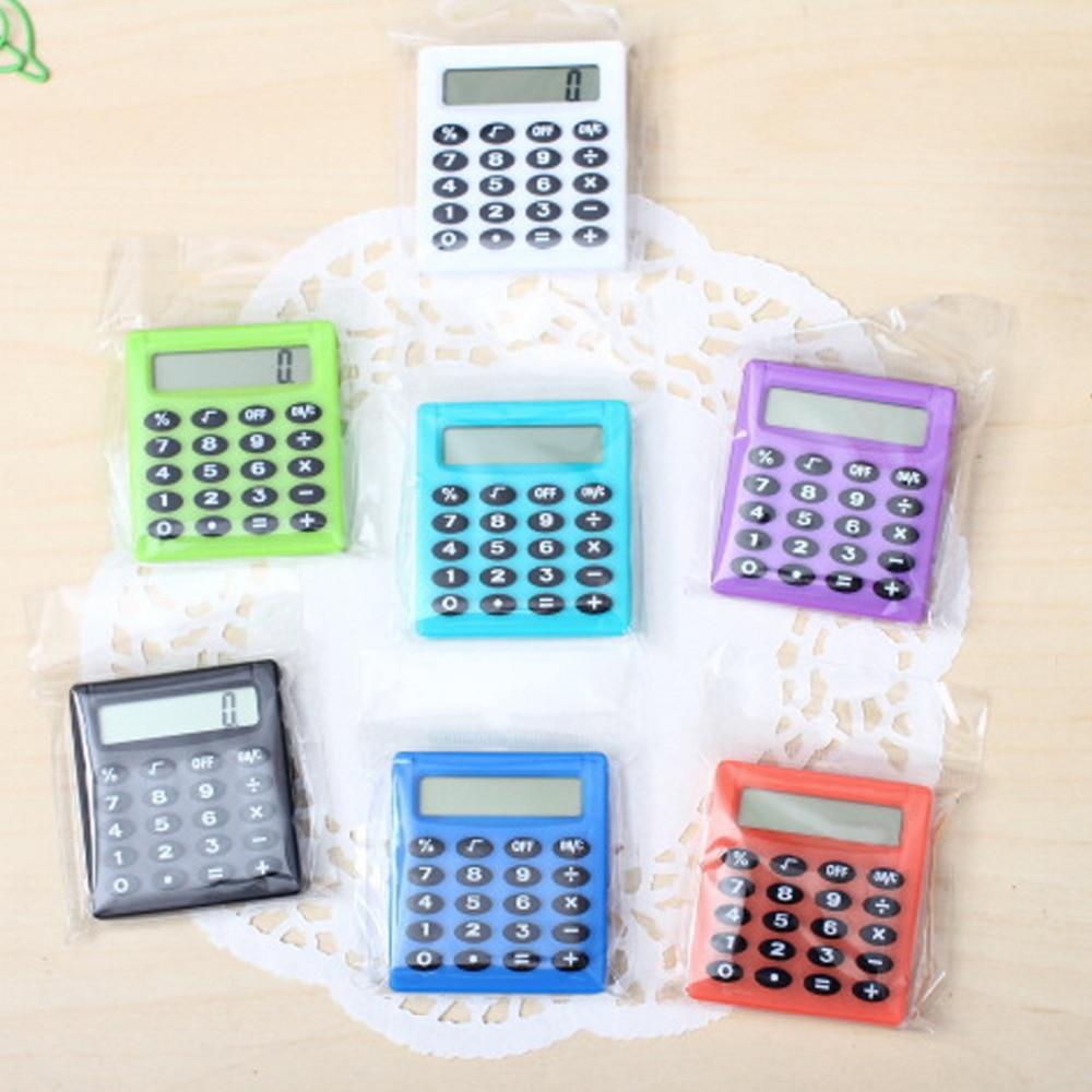 Noyokere Kartun Saku Mini Kalkulator Ha Ndheld Pocket Type Koin Baterai Kalkulator Membawa Tambahan
