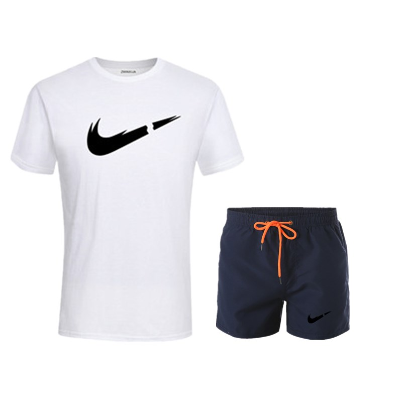 HTB1WqBkUgDqK1RjSZSyq6yxEVXa9 2019 New Men Fashion Two Pieces Sets T Shirts+Shorts Suit Men Summer Tops Tees Fashion Tshirt High Quality men clothing