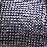 2014 Rushed Free Shipping 5yard Lot Sunflower 16 Rows Plastic Rhinestones Mesh Trimming Sewing Trim Wedding
