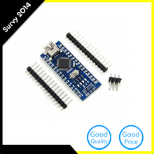 MINI USB Nano V3.0 ATmega328P CH340G 5V 16M Micro-controller board For Arduino Nano Micro usb(China)