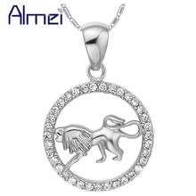 Silver Necklace Chain Constellation Aries Taurus Gemini Cancer Leo Virgo Libra Scorpio Pisces Summer Style Choker Ulove N1048