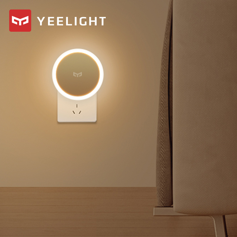 Xiaomi mijia Yeelight indução noite sensor de luz inteligente com smart huaman boday lâmpada led luzes de cama para o quarto corredor