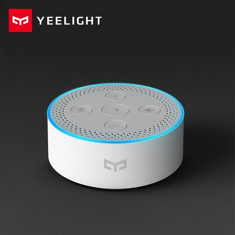 Original xiaomi Mijia Yeelight Bluetooth Mesh gateway smart AI speaker and BLE gateway function  Mi Home APP To Mesh Smart bulb sengled element smart light bulb starter kit