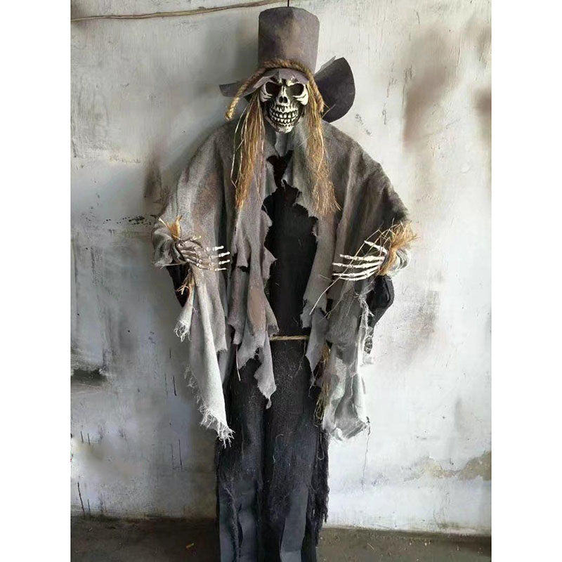 HTB1WqCUrgZC2uNjSZFnq6yxZpXaG - 165cm Halloween Hanging Ghost Haunted House Escape Horror Halloween Decorations Terror Scary Props Theme Party Drop Ornament 1pc