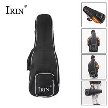 IRIN High Quality Black Mandolin Backpack Shoulder Double Strap Oxford Frabic Durable Washable Fashional Gig Bag