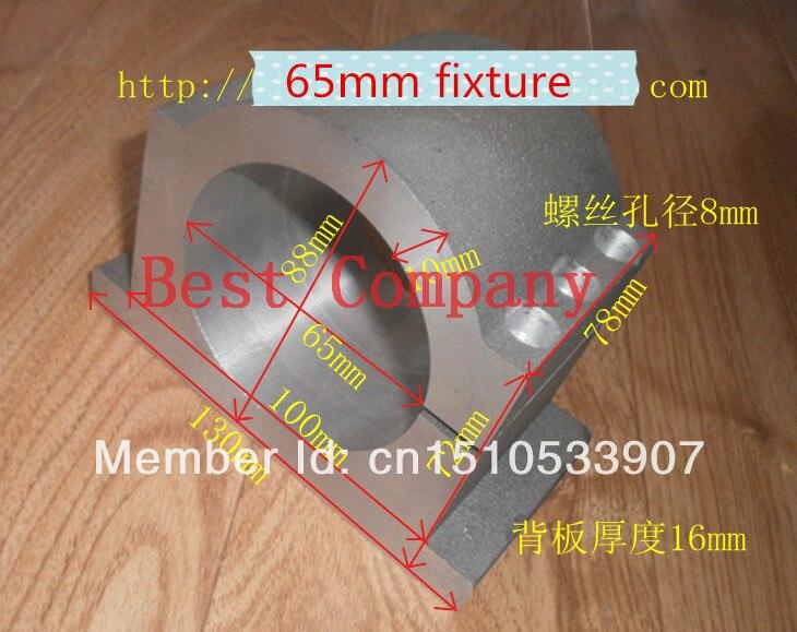 65 mm-es tokmány Orsó rögzítőorsó rögzítés 65mm