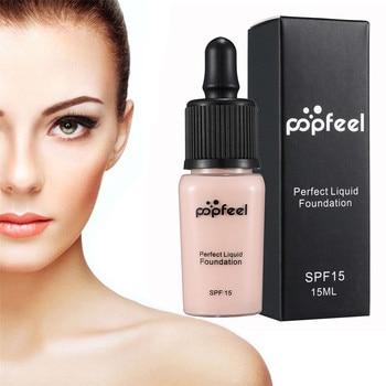 Hot Sale Fashion 15ml Perfect Liquid Foundation Moisturizing Waterproof Sweatproof Concealer BB Cream Bright Skin Makeup Beauty Face Foundation