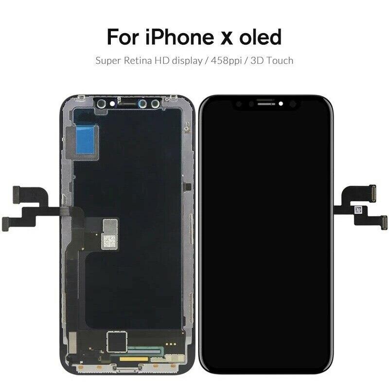 Pour Apple iPhone X/XS écran tactile panneau tactile capteur numériseur avant verre écran tactile extérieur TP écran pas LCD pour iPhone XS