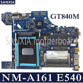 Kefu aile2 NM-A161 placa-mãe do portátil para lenovo thinkpad e540 teste original mainboard gt840m