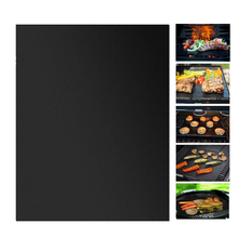 Nonstick BBQ Grill Mat Reusable Teflon Pad Oven Baking Liners Cooking Sheet Outdoor Barbecue Mats Tools