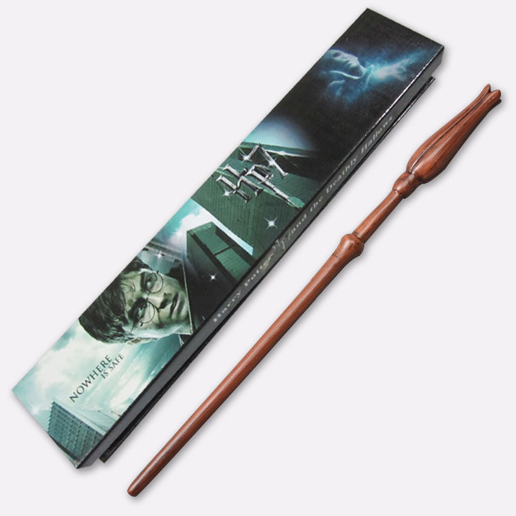 Бесплатная доставка Новый стиль Гарри Поттер Луна Лавгуд волшебная палочка с подарочной коробке Косплэй игрушки детские подарки