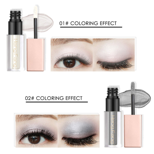 Online Shop Hengfang Metallic Liquid Eyeshadow Glitter Shimmer Eye