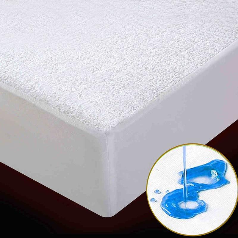 Waterproof Breathable Mattress Protector Hypoallergenic, Breathable, Thin, Quiet, Smooth, No Vinyl, No Odor, Waterproof Mattress