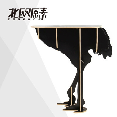 Strange New exotic creative home products ostrich side table Nordic style decoration hotel restaurant bar decor free shipping