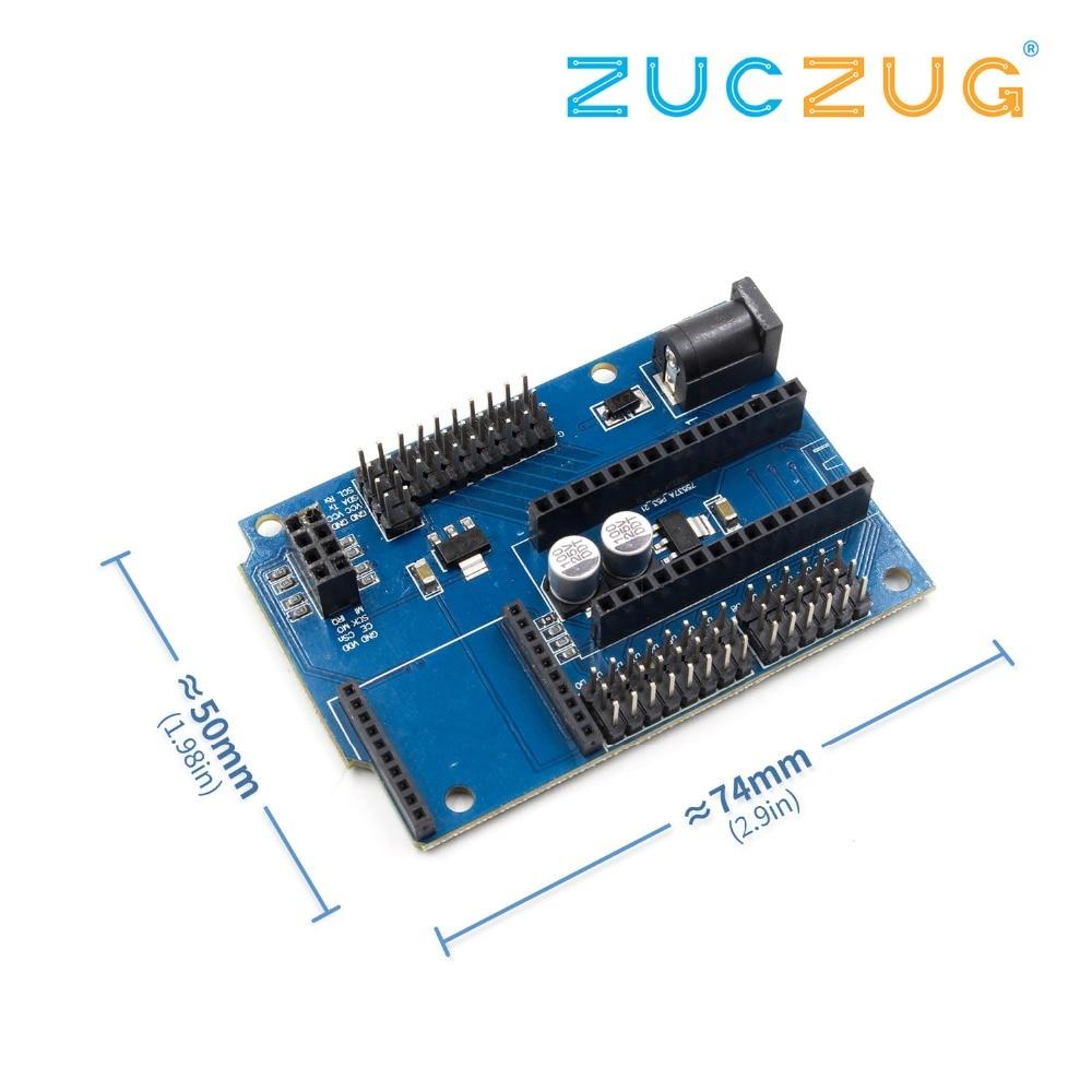 Nano 328 P IO Capteur Sans Fil Carte D'extension pour XBEE et NRF24L01 Socket DIY KIT