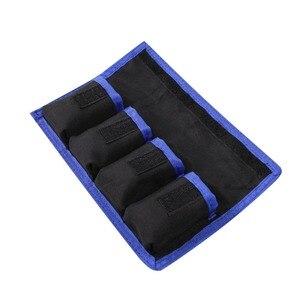 Image 3 - Meking リチウム電池収納ポケットポーチ防水ナイロンキヤノン LP E6 LP E8 ソニー NP FW50 EN EL14 EN EL15 4