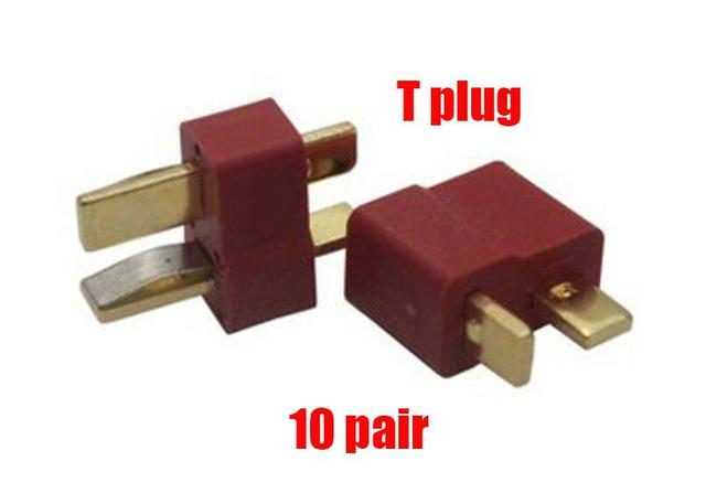 10 pair T plug