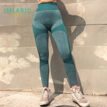 Color Block Athletic Pants Energy Seamless Yoga Leggings Women High Waist Flex Fitness Workout Tights Push Up Hip Sport Trousers cut and sew color block leggings