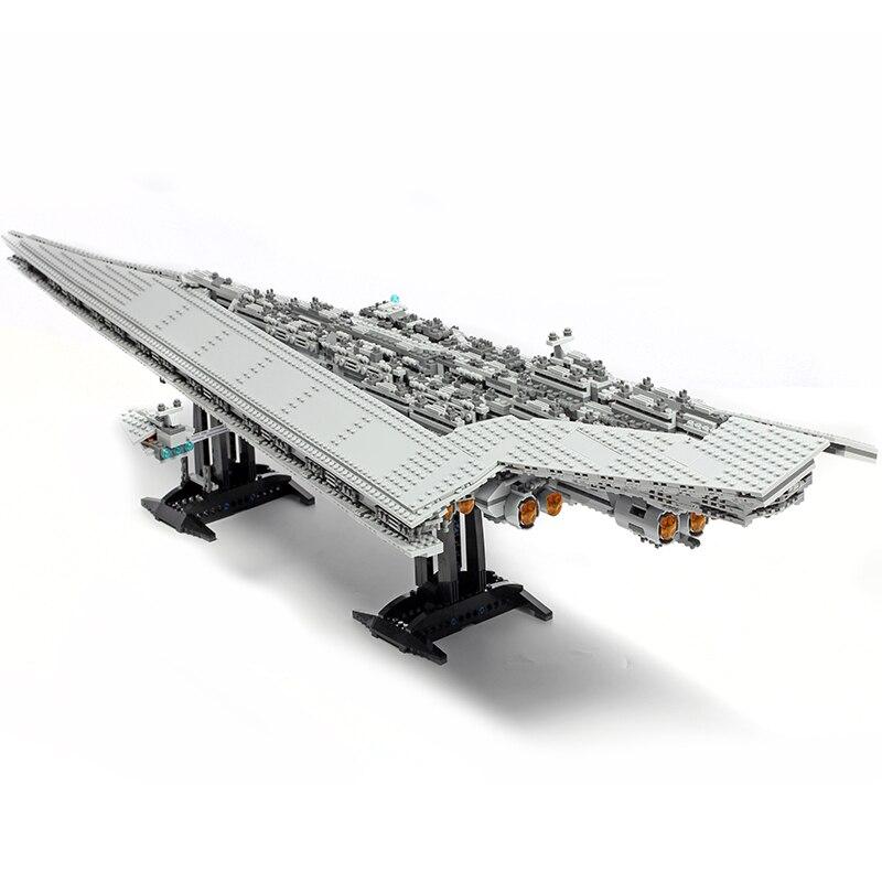 Image 4 - Lepinblocks Star Wars Ship 05027 05028 Super Star Destroyer Model Building Blocks Set 10221 Toys For Children Gift King Bricks-in Blocks from Toys & Hobbies