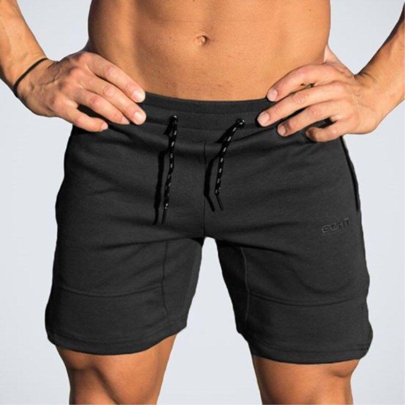 2019 New Shorts Men Casual Summer Cotton Mens Gyms Sweatpants Male Fitness Bodybuilding Workout Jogger Compression Short Pants