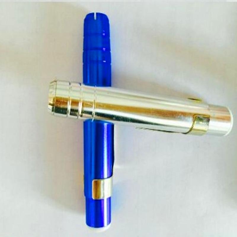 Купить с кэшбэком 10 pcs/lot Aluminum Chalk Holders Holder Pen Porta Tiza Chalk Clip Non Dust Clean Teaching On Chalkboard