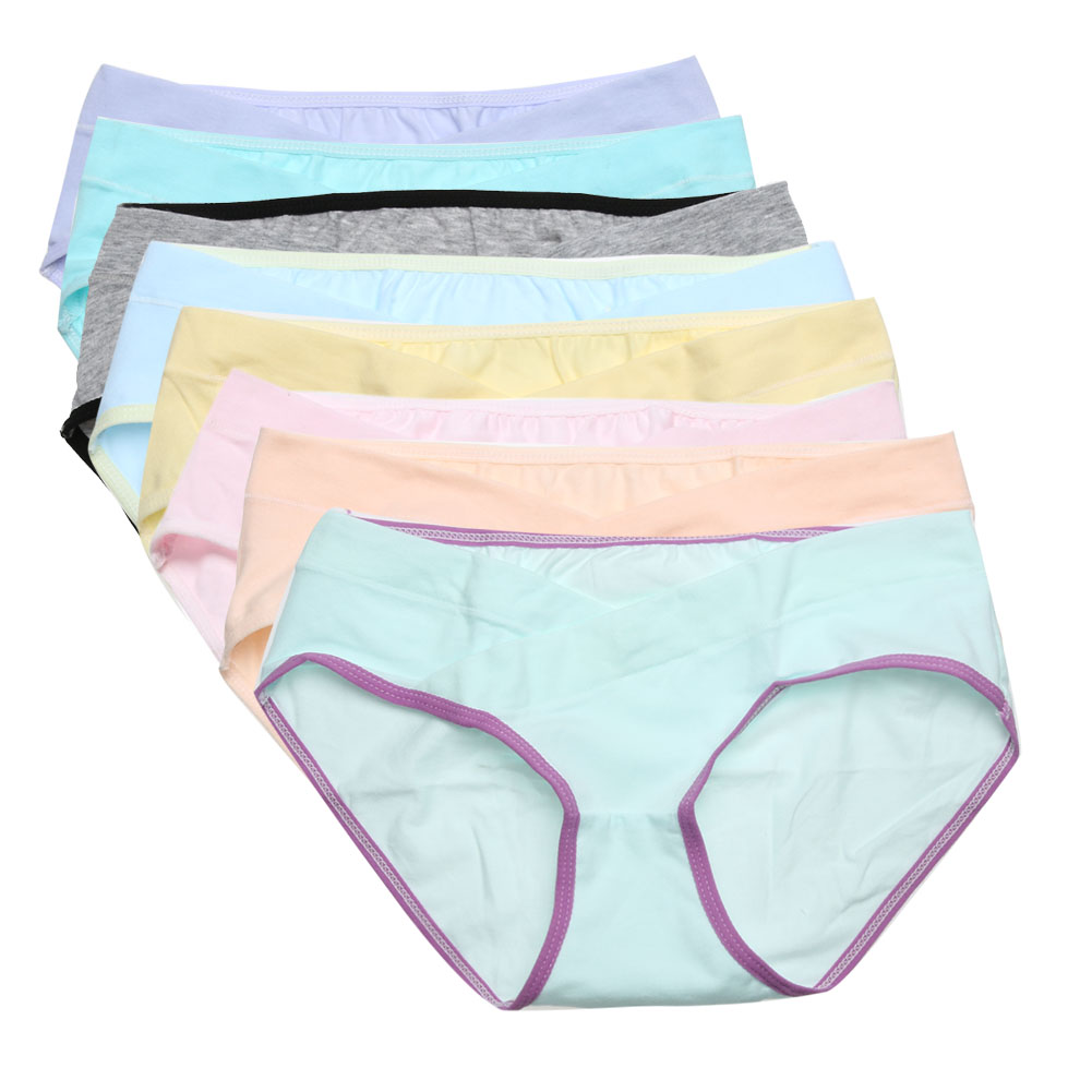Breathable Soft Cotton Pregnant Women Underpants Large Size Maternity Panties Underwear Belly Support Panties Intimates Briefs