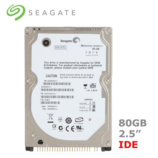 """Seagate 80 GB 2.5 """"IDE PATA 4200-5400 rpm HDD Ổ Đĩa Cứng Nội Bộ đĩa cho Máy Tính Xách Tay Máy Tính Xách Tay disco ball duro interno"""
