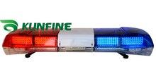 2014 Высокое качество Предупреждающий световой LED полиции света бар и Динамик (необязательно) DC 12 В Аварийного предупреждения вспышки света KF1800