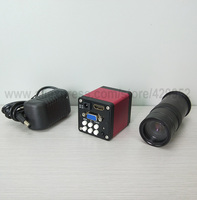 efix HDMI VGA CMOS Industry microscope Video Camera Accessories Parts + Adjustable Magnification Lens