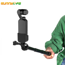 for DJI OSMO Pocket Camera Gimbal Mount Bracket with Extended Stick Holder for DJI OSMO Pocket Accessories for Gopro Camera premium new abs bicycle mount bracket holder bike clamp stand for dji osmo action for osmo pocket gimbal camera accessories
