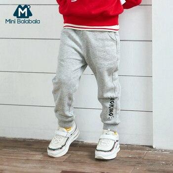 Mini balabalaChildren clothing pants boys 2019 spring autumn models boys baby casual pants fashion 1