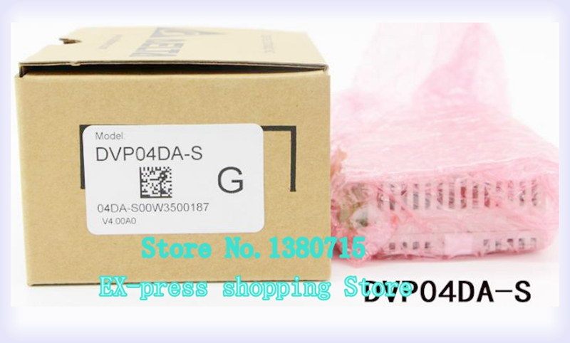 original new PLC DVP04DA-S analog input module 100% new and original g6i d22a ls lg plc input module