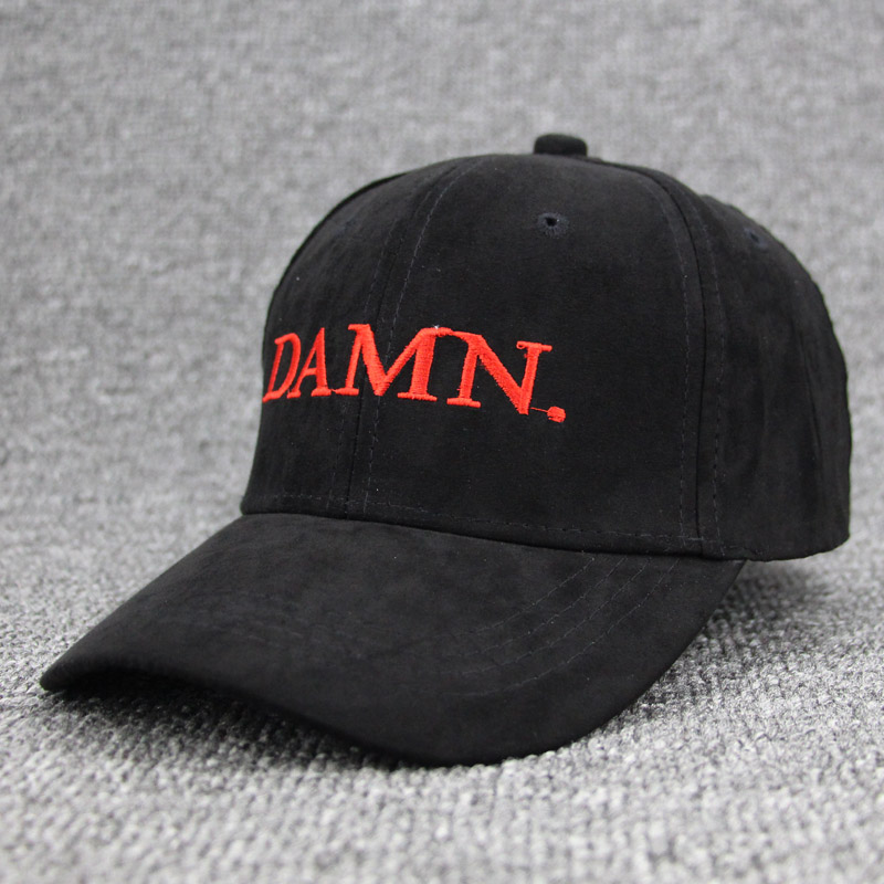 black kendrick lamar damn cap embroidery DAMN. unstructured dad hat bone women men the rapper baseball caps trucker gorras caps are the dinosaurs dead dad