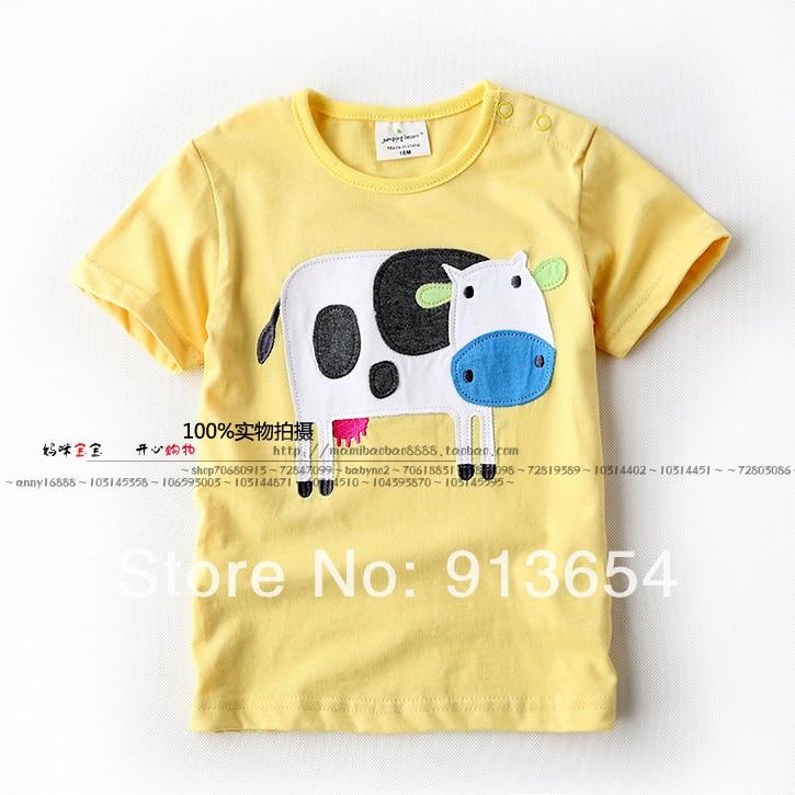 Boys T-Shirts Baby-Boy Short-Sleeve Casual Children Summer New Cotton Tee
