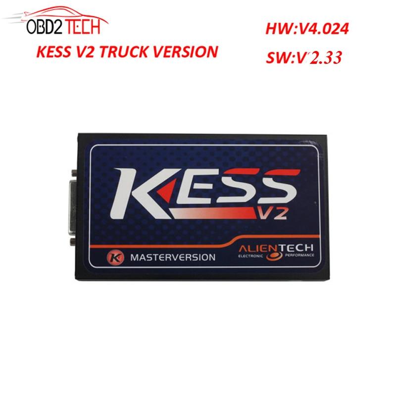 все цены на  Newest Arrival V2.33 Truck Version Kess V2 Firmware V4.024  Manager Tuning Kit Master Version  онлайн