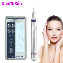 KONMISON Digital Professional Permanent Tattoo Makeup Pen Tattoo Machine For Eye Eyebrow Lip Body With Makeup Tattoo Needles Set