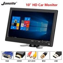 """Jansite 10 """"Car Monitor IPS Display può essere usato per il calcolatore HDMI di Inverso del monitor Telecamera di Assistenza Sistema Paking con la parte posteriore macchina fotografica"""