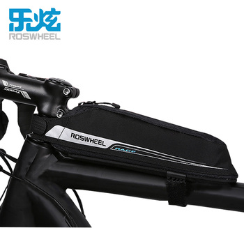 ROSWHEEL 0.4L Professional Race Road Bicycle Bags Tool Bag Case Head Top Tube MTB Mountain Road Bike Bags Bicycle Accessories brompton stickers
