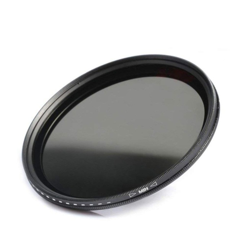 LXH 95mm ND2 to ND400 Lens Filter djustable Fader Variable ND2-400 for Nikon Canon Sony Camera Neutral Density Lens Filter