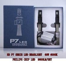 Pair H1/H3/H4 HI LO BEAM/H7/H11/H13/880/9004/9005/9006/9007 LED headlight 6000K 60W 9600LM Waterproof Anti-Electronic Fog Lamp