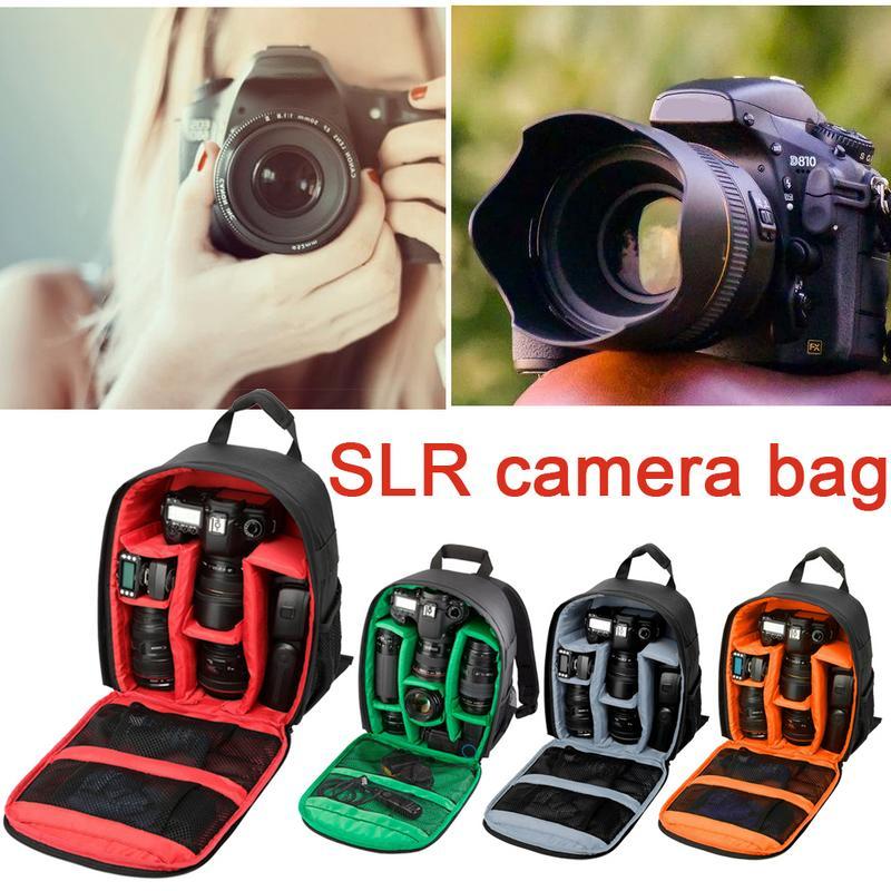 Outdoor Waterproof Dslr Camera Bag Camera Backpack Video Digital Dslr For Canon Nikon Sony Slr Camera Kit Consumer Electronics