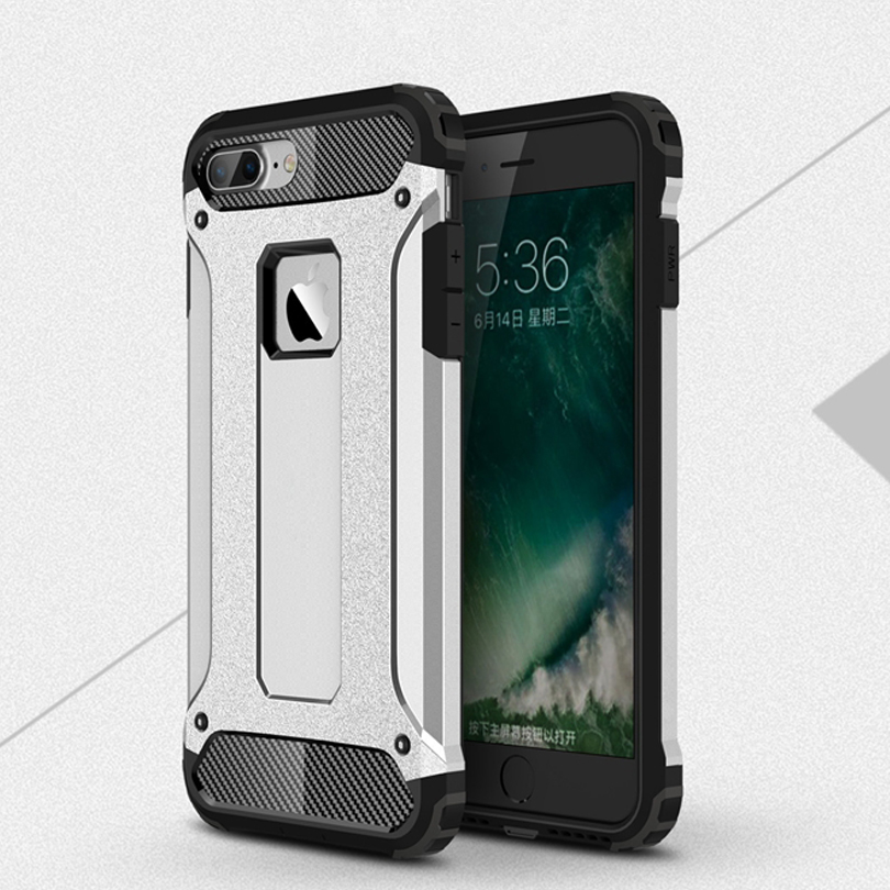 i7 Plus Case New Hybrid Shockproof 3 in1 Soft TPU Impact Rugged Hard PC Case For iphone 7 Plus iPhone XR