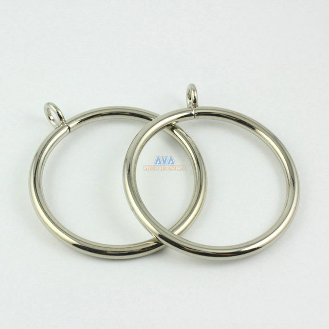Curtain Rings with Clip. Showing 40 of results that match your query. Search Product Result. Product - Rings for Curtain Rods, Bronze, Pack of Product - Alytimes pack Silver Metal Curtain Rings with Clips (1