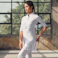 Women Yoga Clothes Sets Cotton Meditation Clothing Kung fu Uniforms Tai Chi Wing Chun Suit Shirt and Pants Sport Yoga For Girls